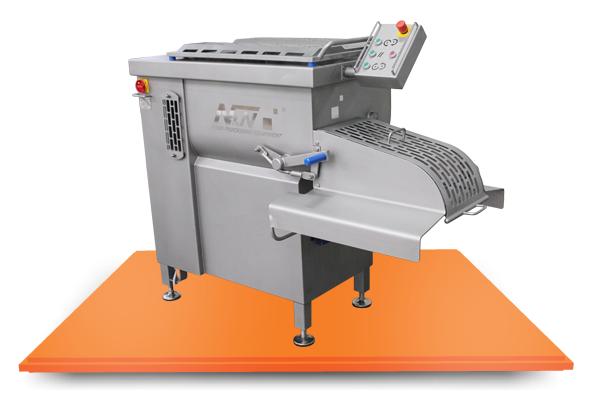 Milk processing mixers